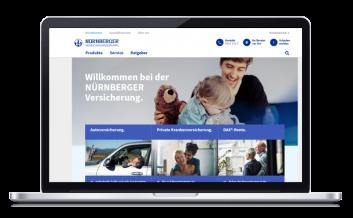 Nürnberger Versicherung Desktop